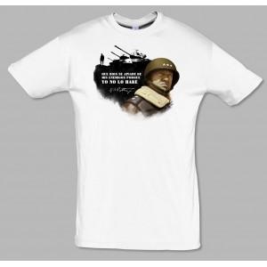 Camiseta Patton. Cita.